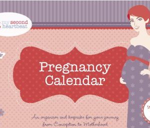 Keepsake pregnancy calendar